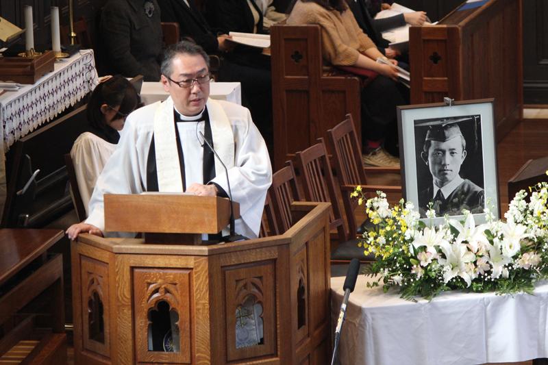 詩人・尹東柱とともに 立教大で追悼の集い