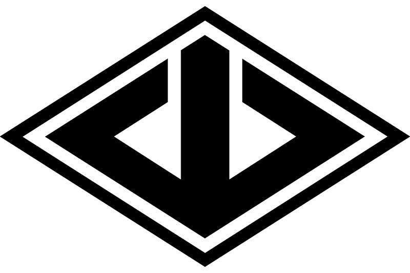 山口組の標章「山菱(やまびし)」(図:Alexander Krivács Schrøder)