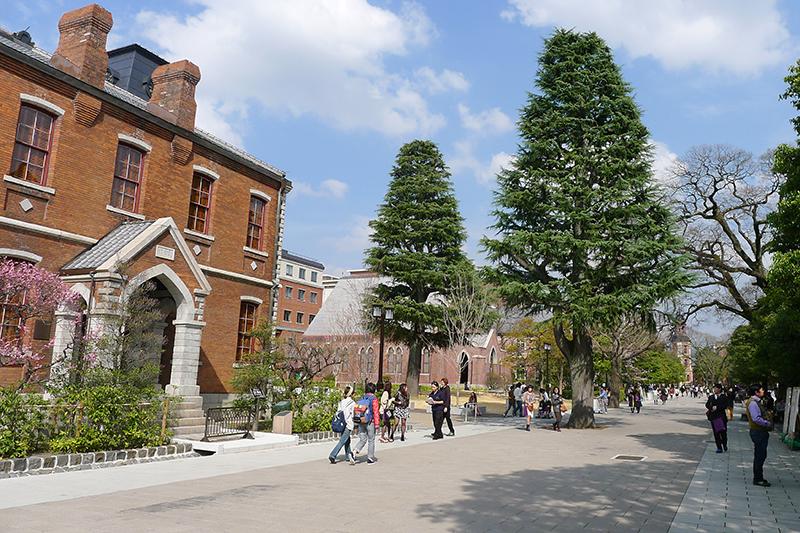 同志社大学今出川キャンパス(写真:Felix F)