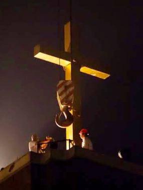 十字架撤去に抵抗した中国の牧師に懲役14年の判決