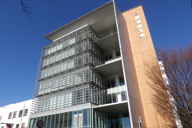 桜美林大学町田キャンパスの明々館(写真:machiro)