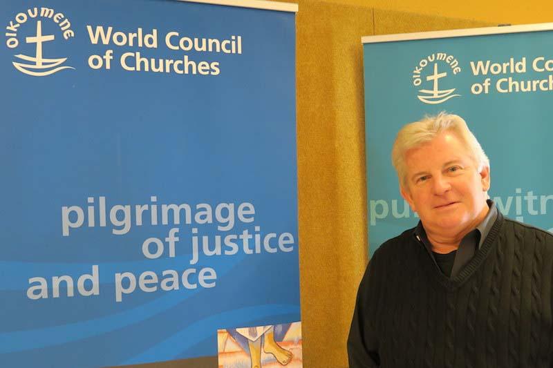 スティーブン・J・シドラック牧師・博士(写真:WCC / Peter Kenny)