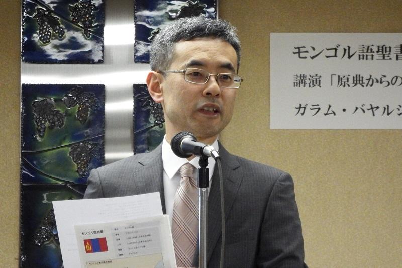 モンゴル語聖書翻訳プロジェクトリーダーが来日講演 日本聖書協会