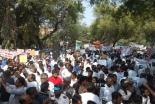 ダリットの平等な権利を求めてキリスト教徒とイスラム教徒が大規模抗議活動 デリー