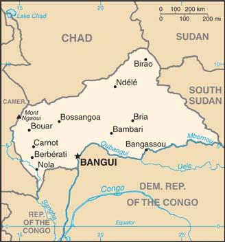 中央アフリカ共和国は、2013年3月にイスラム教徒が多数を占める武装勢力「セレカ」がクーデターを起こし、当時のフランソワ・ボジゼ大統領を追放してから暴力が蔓延(まんえん)している。