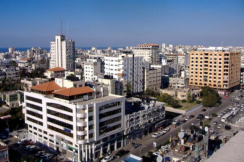 ガザ市街の様子=2007年(写真:OneArmedMan)