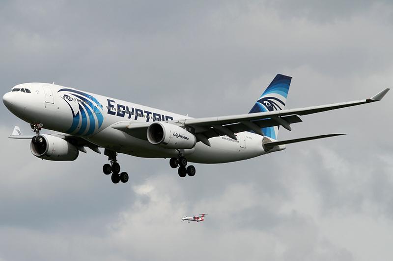 ハイジャックされた「MS181便」と同じエアバスA320−20型のエジプト航空機(写真:Konstantin von Wedelstaedt)