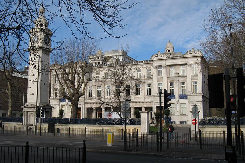 英国ロンドン市内にあるロンドン大学クイーン・メアリー(写真:JPD)