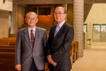 キリ学新旧2人の学長が対談 受け継がれる建学の精神