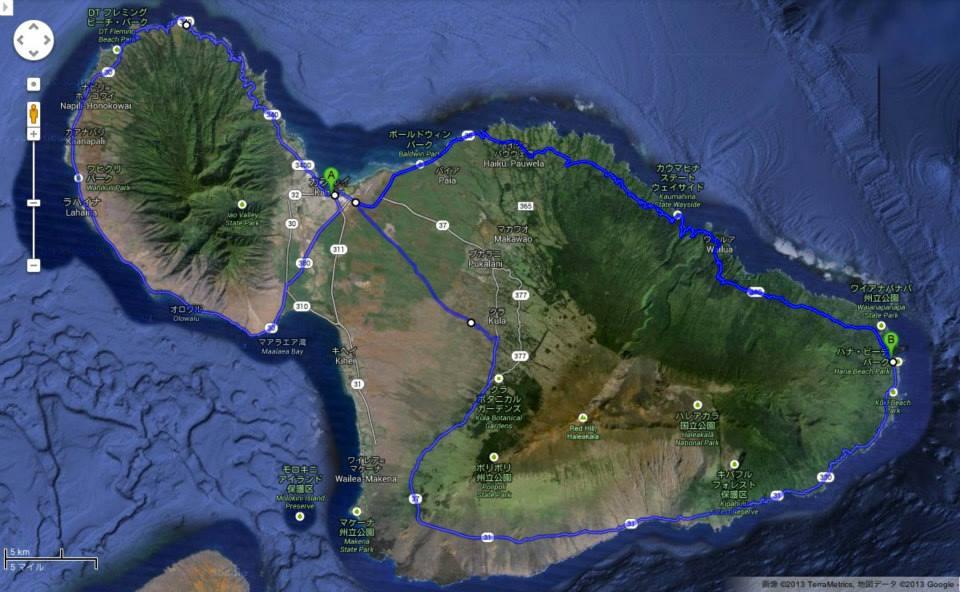世界自転車旅行記(19)ハワイ 木下滋雄