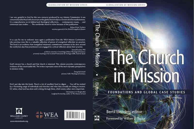 『宣教における教会:基礎とグローバルな事例研究(The Church in Mission: Foundations and Global Case Studies)』のカバー(写真:WEA宣教委員会提供)