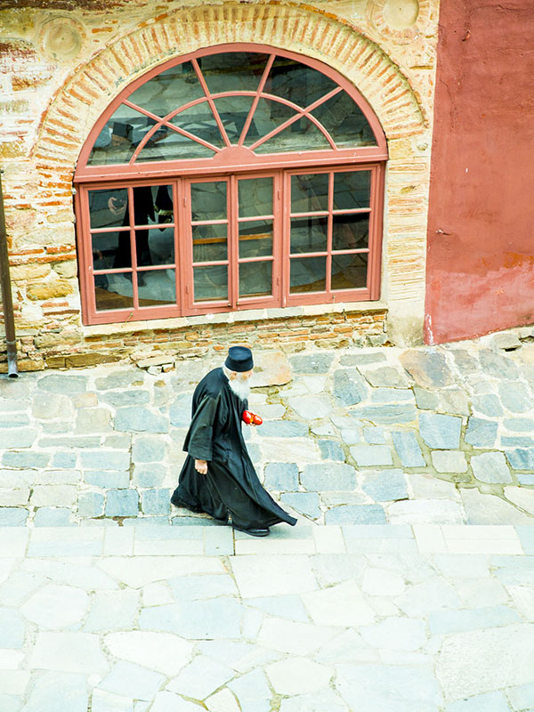 聖山アトス巡礼紀行―アトスの修道士と祈り(6)クトゥルムシウー修道院を訪ねて・その2~五感 中西裕人