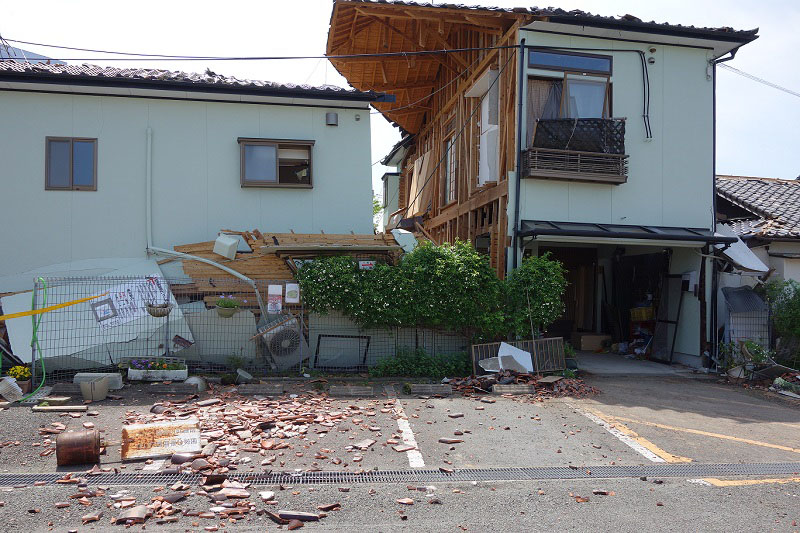 熊本地震:熊本東聖書キリスト教会が壊滅的な被害
