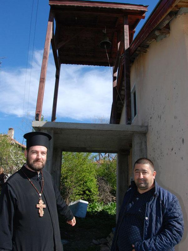 ブルガリアのコズレットにある大天使ミカエル教会の鐘楼(写真:Haskovo.net)