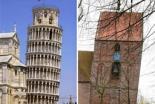 ピサの斜塔を超え世界一傾いた塔に ドイツの教会、ギネス認定