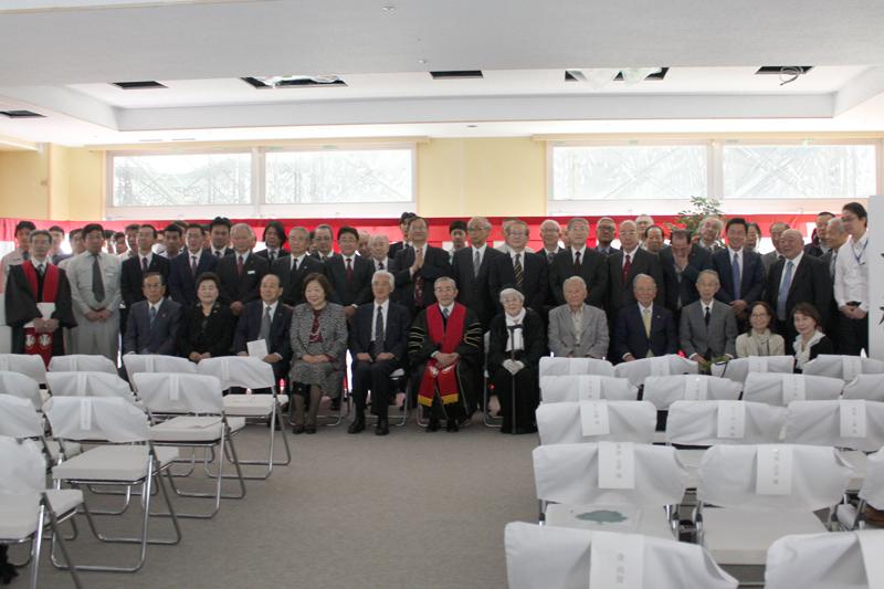 特別養護老人ホーム「故郷の家・東京」の上棟式を開催 完成は今秋