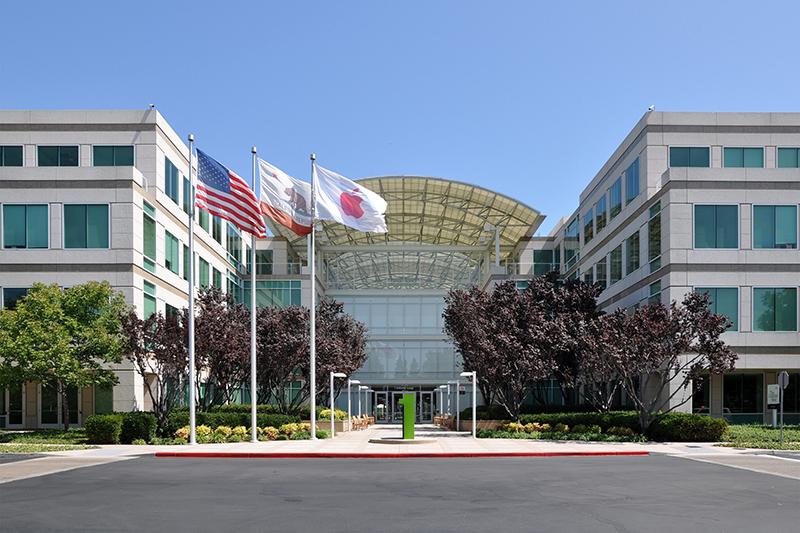 米カリフォルニア州クパチーノにあるアップル本社(写真:Joe Ravi)