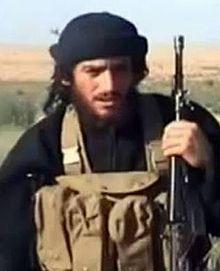 過激派組織「イスラム国」(IS)のスポークスマン、アブ・ムハンマド・アル・アドナニ(写真:ウィキペディア)