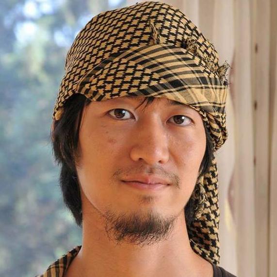講演した鵜澤佳史さん。「イスラム過激派」のイメージとは裏腹な、礼儀正しい好青年であった。