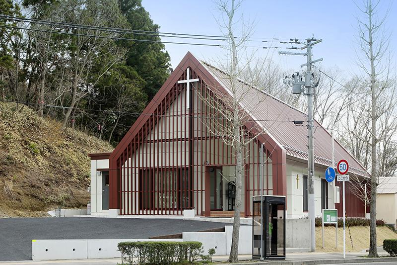 再建された「SEASID BIBLE CHURCH グレース宣教会つばめさわ教会」(写真:「SEASID BIBLE CHURCH グレース宣教会つばめさわ教会」提供)
