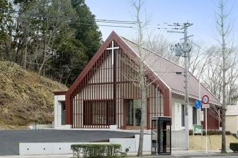 大津波で流された教会堂が献堂式 JIFHの協力で再建