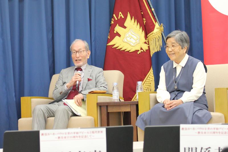教皇ヨハネ・パウロ2世来日から35年 上智大学で平和のための記念シンポジウム開催