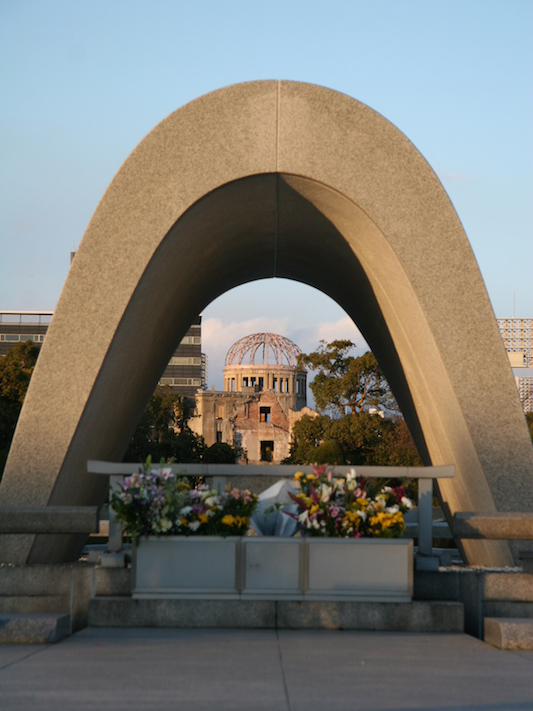 広島平和記念公園(写真:大江万里)