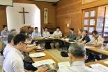 熊本地震:地震発生から1カ月半 九キ災の熊本地震支援会議に全国から100人以上が参加