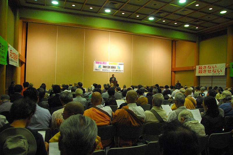 参院選で「戦争法に賛成する議員には投票しない」ことを呼び掛け 宗教者・信者全国集会