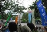 「選挙に行こうよ!」「政治を変えよう!」国会前で4万人が集会