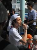 「弾は残っとるがよ!!」奥田愛基氏、6・5国会前集会に勇気 参院選の争点は憲法と強調