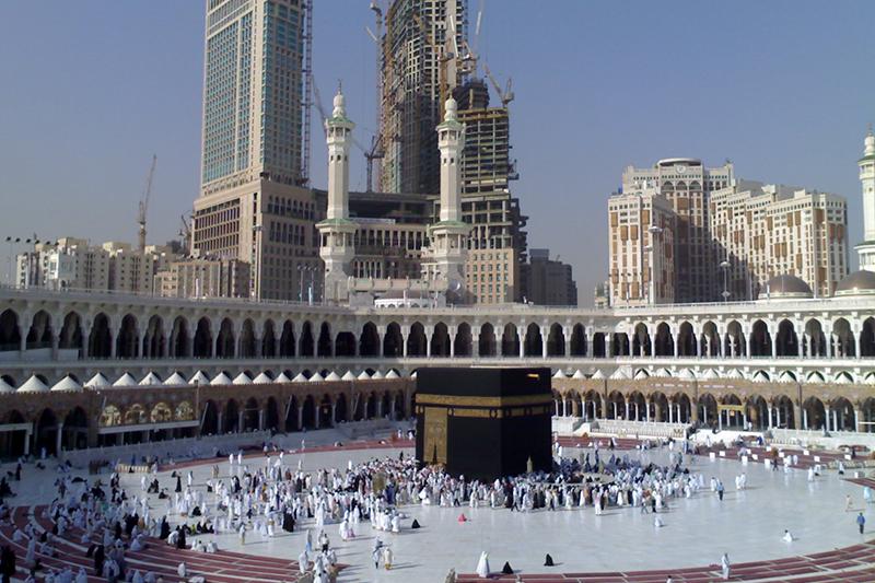 サウジアラビア・メッカのカアバ神殿(写真:Meshal Obeidallah)
