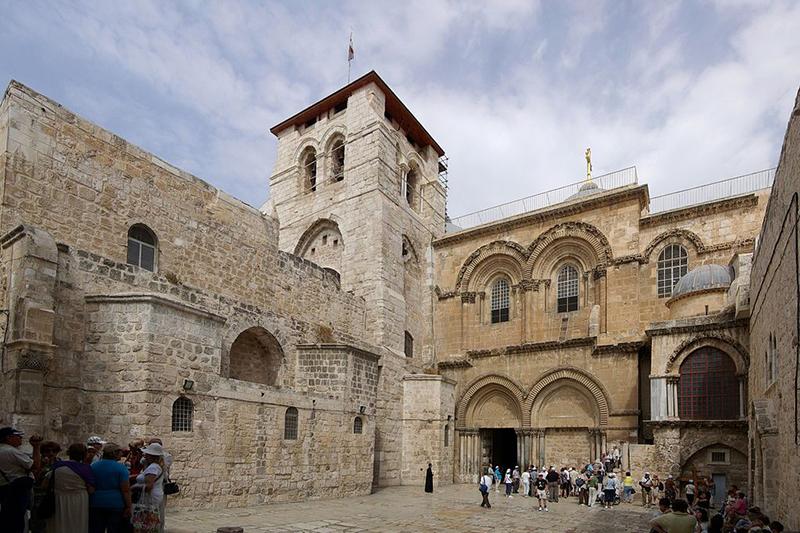 エルサレムの聖墳墓教会(写真:Berthold Werner)