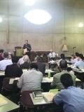 日本聖公会総会で栗生楽泉園の藤田三四郎さん(90)が語ったハンセン病の歴史における教会の責任(2)