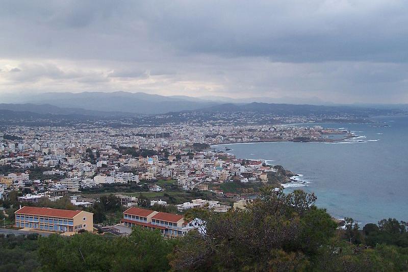 全世界正教会会議の開催予定会場のクレタ正教アカデミーがあるギリシャのクレタ島の都市ハニア(写真:Giorgos N. Vagionis)<br />