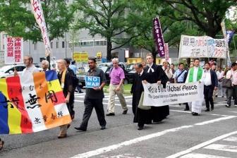 大阪で9条世界宗教者会議開催 アジアの諸教会も参加し、9条改定に反対