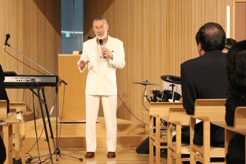 アーサー・ホーランド牧師、日本宣教を語る ジーザス・ジューン・フェスティバル2016