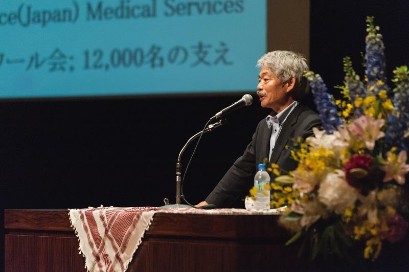 医師中村哲医師が講演 「アフガンの歴史、決してひとごとではない」