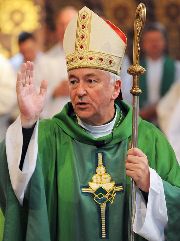 ウェストミンスター大司教ビンセント・ニコルス枢機卿(写真:イングランド・ウェールズカトリック司教協議会)