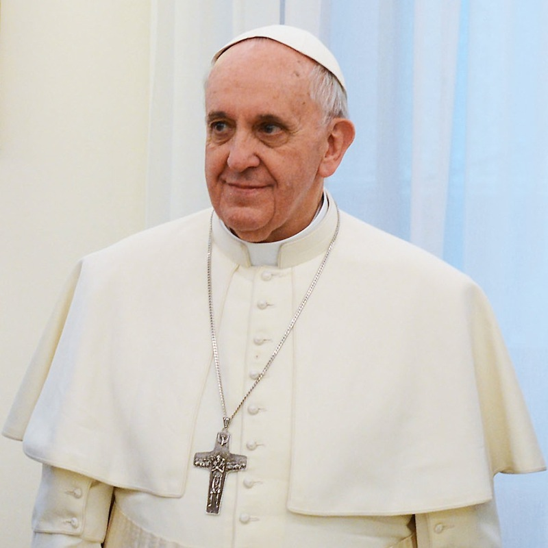 ローマ教皇フランシスコ(写真:Casa Rosada)