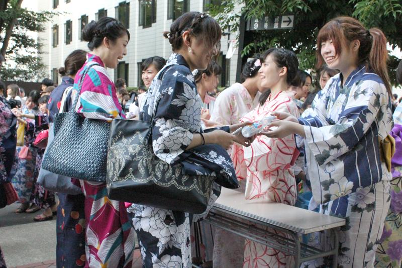浴衣に彩られた特別な一日 今年も開催「上智浴衣デー2016」