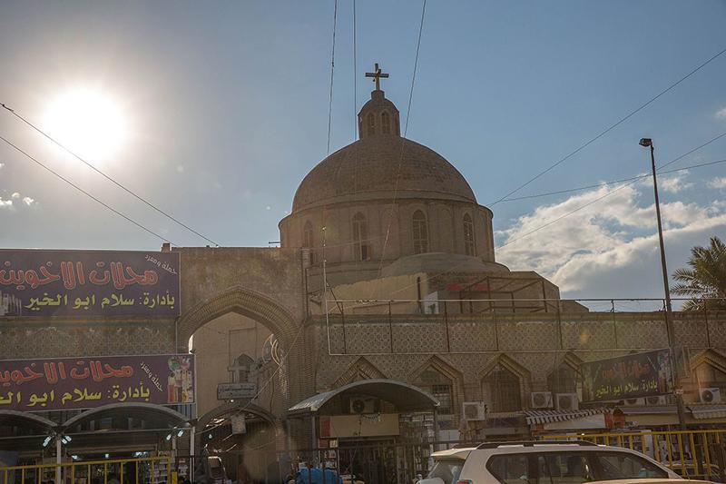 イラクの首都バグダッドにあるバグダッド聖母マリア大聖堂=1月2日(写真:Aziz1005)