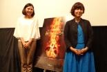 映画「祈りの力」公開初日 久米小百合さん×山下弘子さんが「祈り」をテーマにトークイベント