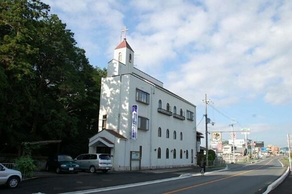 2016年からコプト正教会の会堂として使われている京都府木津川市の教会堂(写真:カリスチャペル京阪奈の村上好伸創立牧師提供)