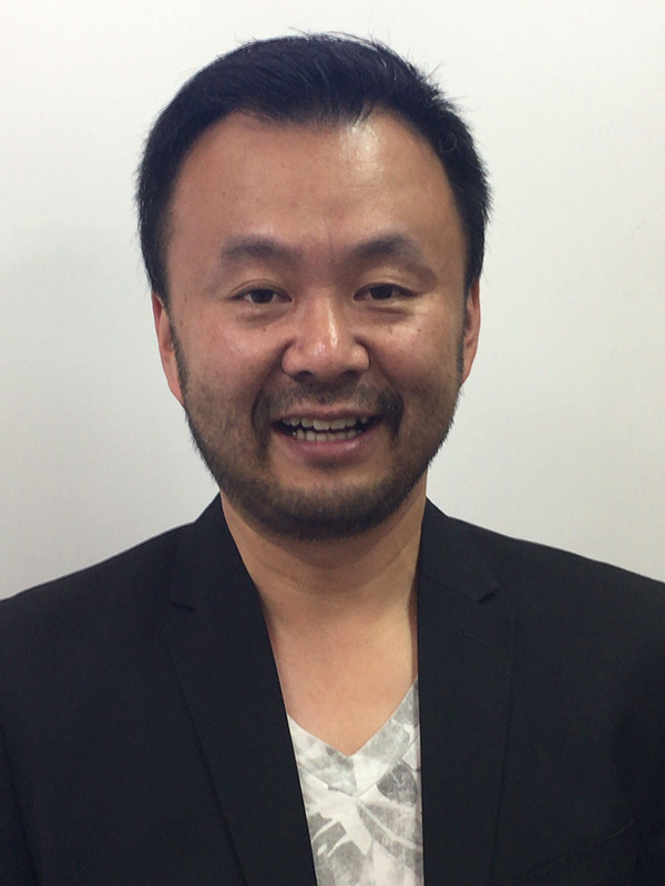 九州キリスト災害支援センター熊本支部ディレクターの中村陽志牧師(熊本ハーベストチャーチ)=6月18日、大阪市吹田区で