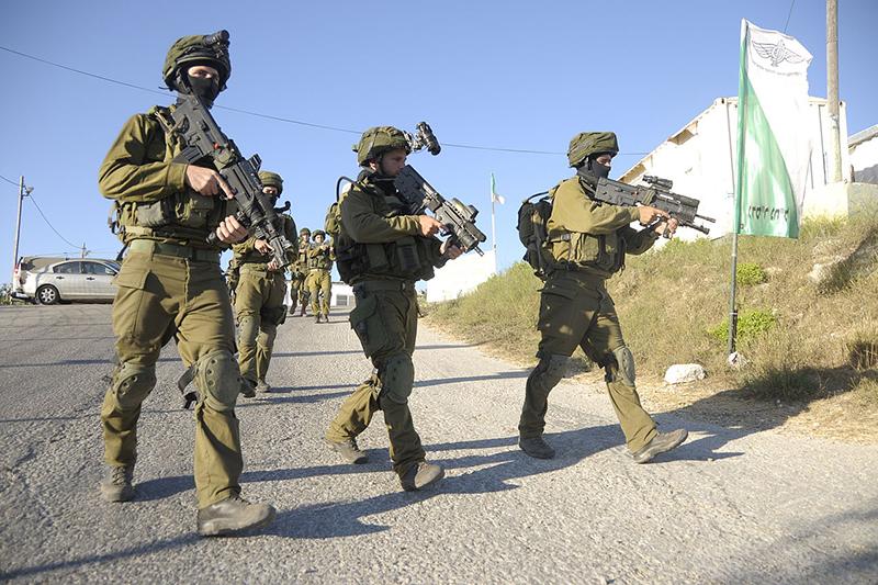 イスラエル軍兵士=2014年6月15日(写真:イスラエル国防軍)