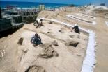 イスラエルの古代墓地で大量の人骨発見 ペリシテ人の起源解明に期待