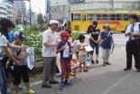 存続危機の京都・花園教会水族館、教会学校と地域の子どもたちが街頭募金活動