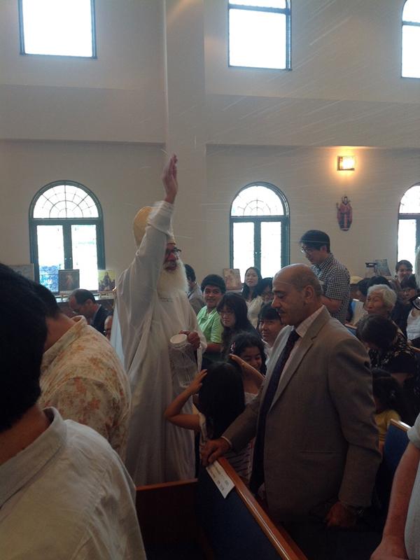 日本初のコプト正教会開堂式 京都府木津川市で教派超え100人が参列