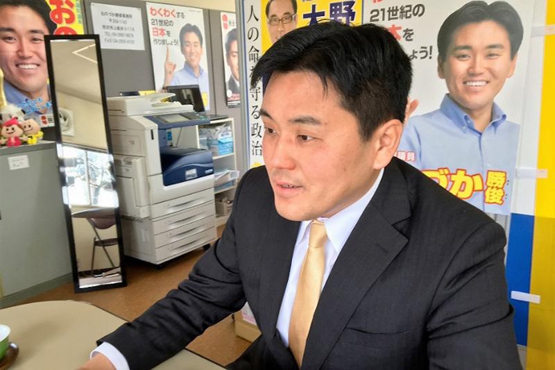 この人に聞く(13)「政治家の仕事は平和を守るためにある」小野塚勝俊元衆議院議員